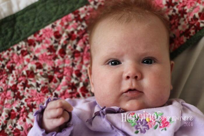 Eva Joy 3 Months Old 2